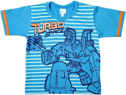 Camiseta Infantil Turbo Space - 3563