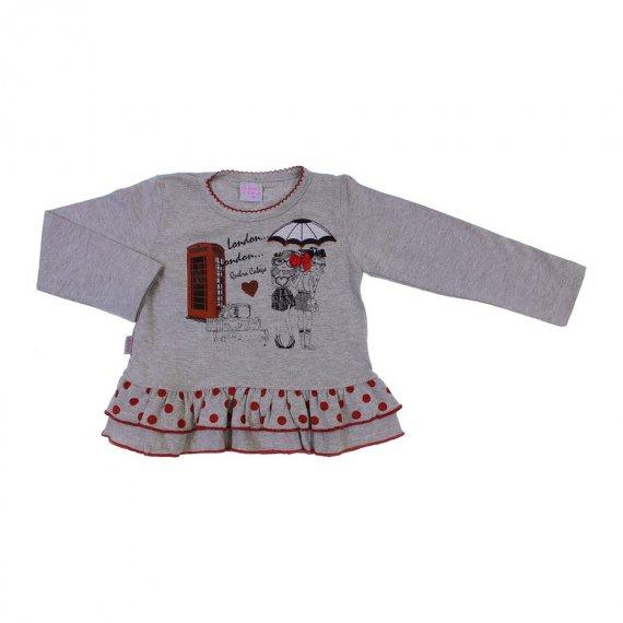 Camiseta Infantil Menina Babadinhos