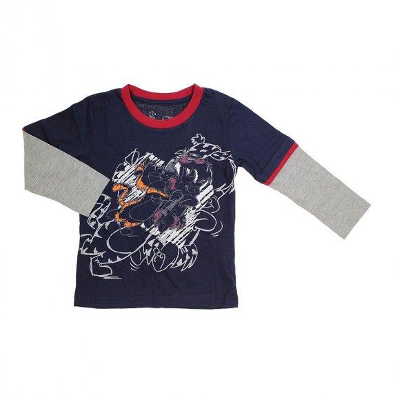 Camiseta de Malha Manga Longa Flintstone - Cod. 5759