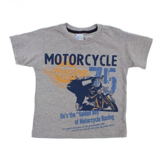 Camiseta Infantil de Menino Manga Curta