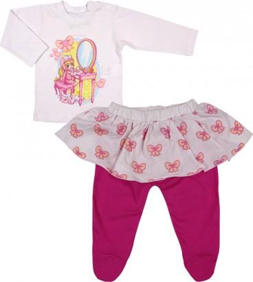 Conjunto de Bebê Calça e Camiseta Penelope Charmosa 5746