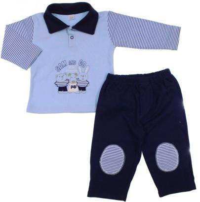 Conjunto de Bebe - Camiseta e Calça - Pup - cod. 5948