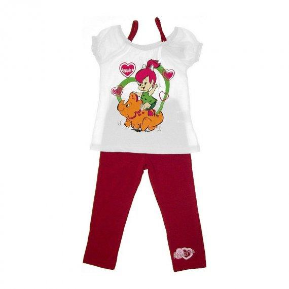 Conjunto de Bebê Bata e Calça Bailarina Pedrita