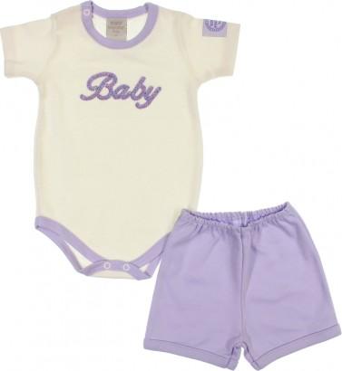 Conjunto de Menina Shorts e Body 6585
