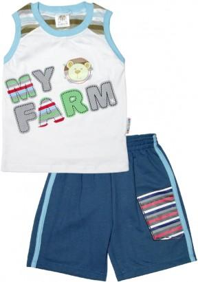 Conjunto Infantil para Menino Regata Farm