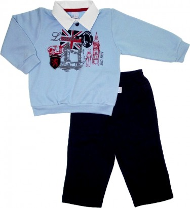 Conjunto de Moletom Flanelado London 5674