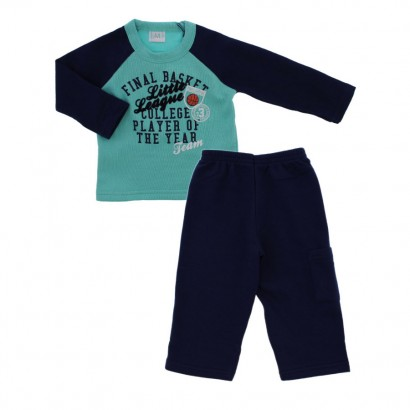 Conjunto de Moleton para Bebê Little League 8785