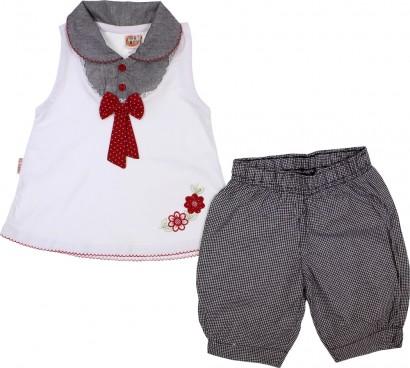 Conjunto de Bebê Regata e Shorts Menina