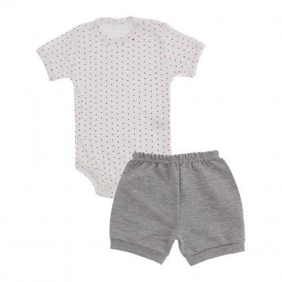 Conjunto de Body e Shorts Lapuko