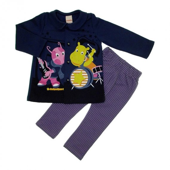 Conjunto de Moleton Backyardigans
