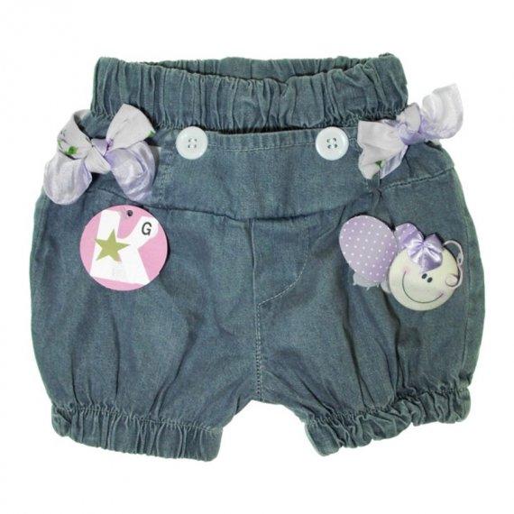 Shorts Jeans para Bebê