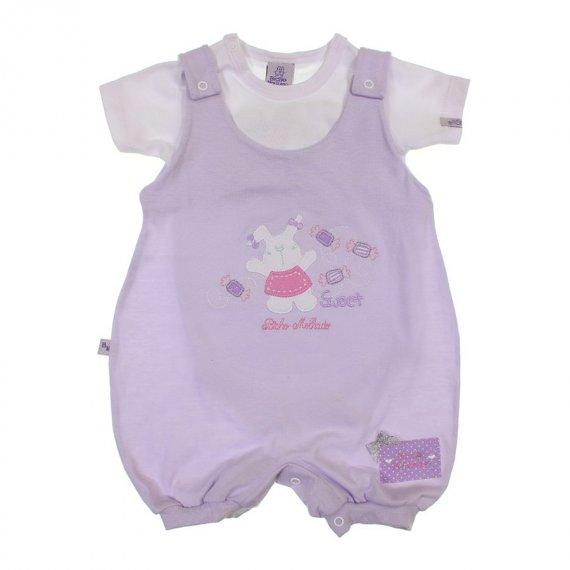 Jardineira de Bebê Verão Bicho Molhado - 5990
