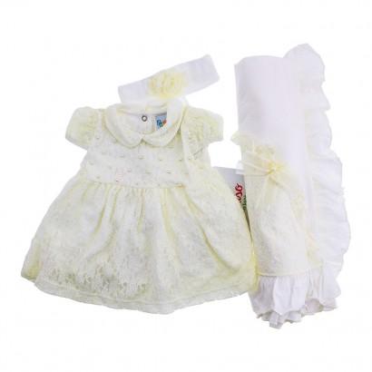 Saida de Maternidade com Vestido Paraiso