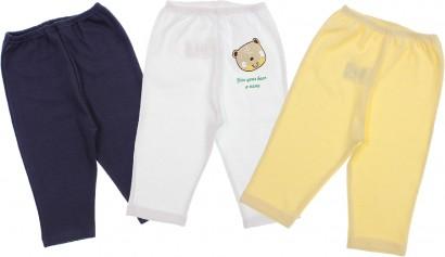 Calça de Bebê Sem Pé Para Meninos Bear