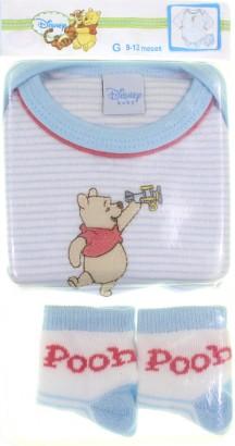 Body de Bebe - Ursinho Pooh - cod. 6410