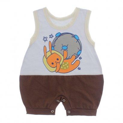 Macacão Bebê Regata Lapuko