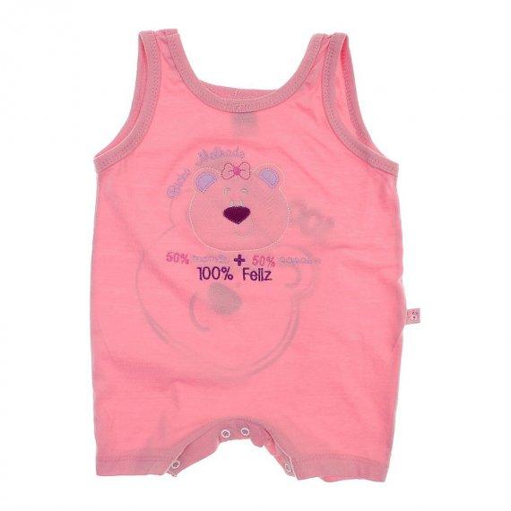 Banho de Sol Bebê Menina Regata Bicho Molhado 5992