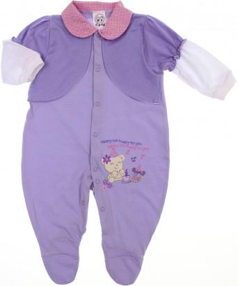 Macacão de Bebê Longo PI-A-MINI