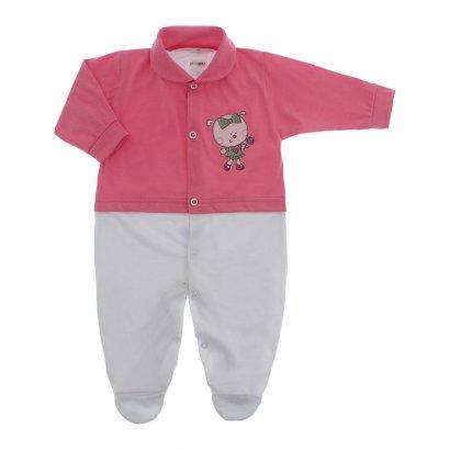 Macacão de Bebê Menina Lapuko