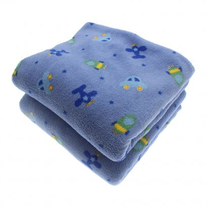 Manta Bebê em Microfibra Fleece Lapuko