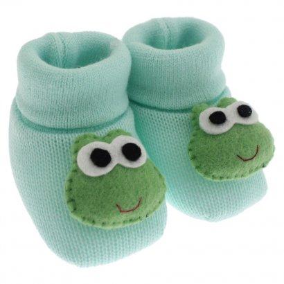 Pantufa de Lã para Bebê