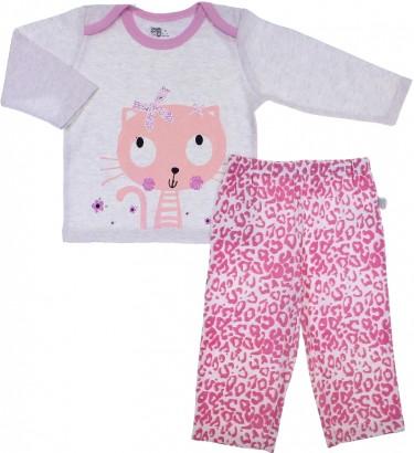Pijama para Bebê Menina - Zig Mundi 6716