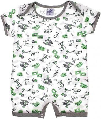 Pijama Infantil para Menino Verão Dog 5851