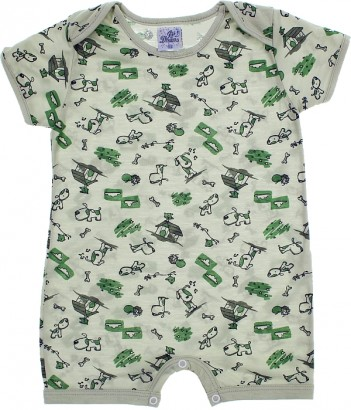 Pijama Infantil para Menino Verão Dog