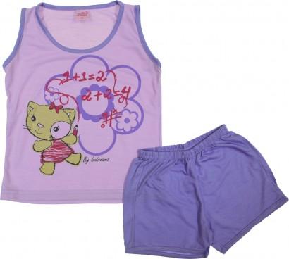 Pijama Infantil Menina Verão