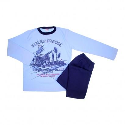 Pijama Infantil de Inverno Projeto Oceano - cod. 5855