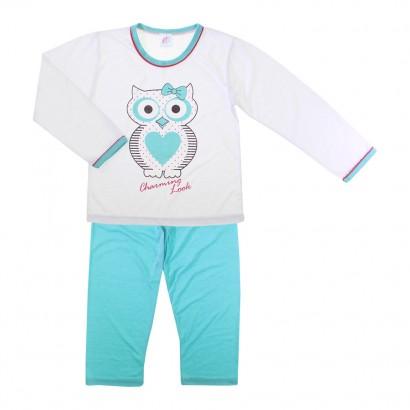 Pijama Infantil Feminino Corujinha