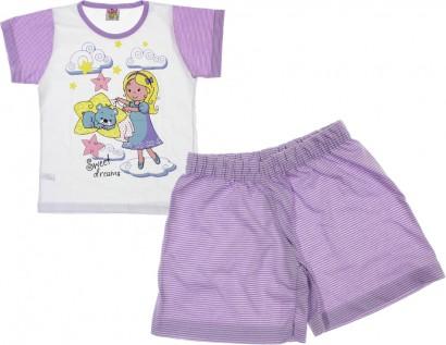 Pijama Infantil Menina Kika