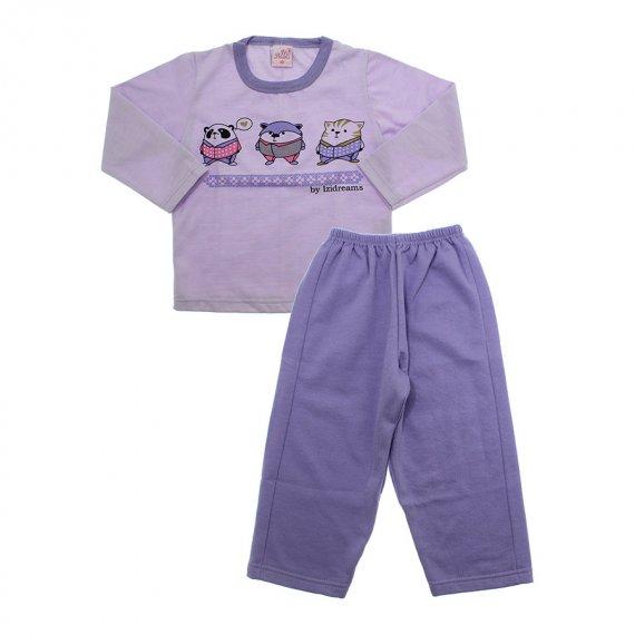 Pijama infantil estampado