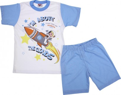 Pijama Infantil de Verão para Menino Moon