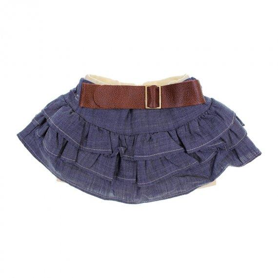 Mini Saia de Bebê com Shorts