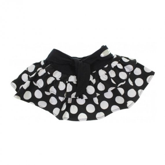 Saia Shorts Infantil Bolinhas 6341
