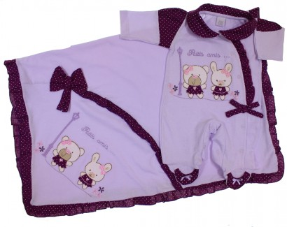 Saida de Maternidade Bebê Menina 5479