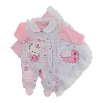 Saída de Maternidade Menina Baby Gijo