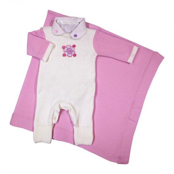Saída Maternidade em Linha Bebê Menina 6302