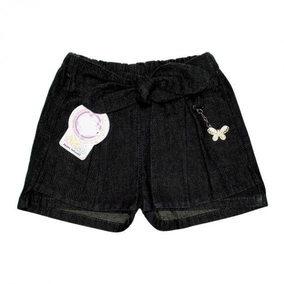 Shorts Saia Infantil Jeans