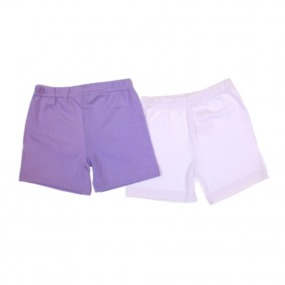 Kit Shorts para Bebê Menina 2 pçs Zigmundi