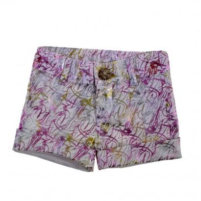 Shorts em Sarja Infantil 8612