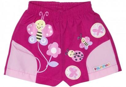 Shorts Infantil Feminino Jardim - Cod. 4841