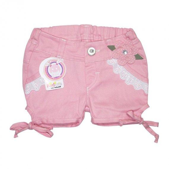 Shorts de Sarja Flor 4108