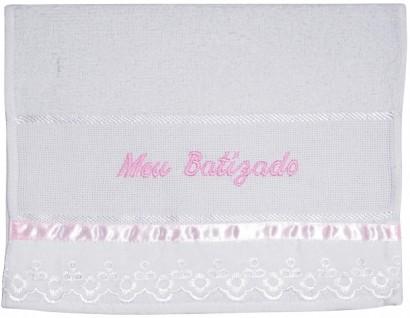 Toalha de Boca Meu Batizado - Cod. 532