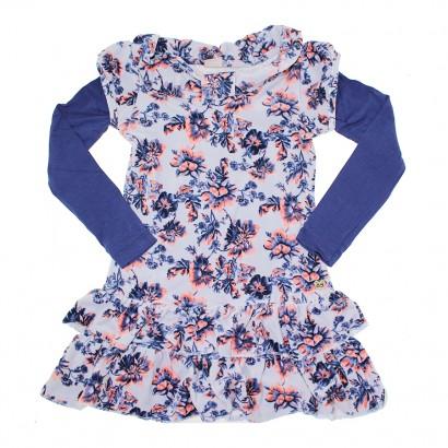 Vestido Infantil Plush Flowers