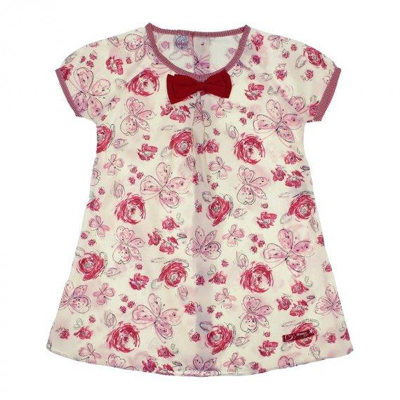 Vestido Floral Infantil Bonnemini Girl