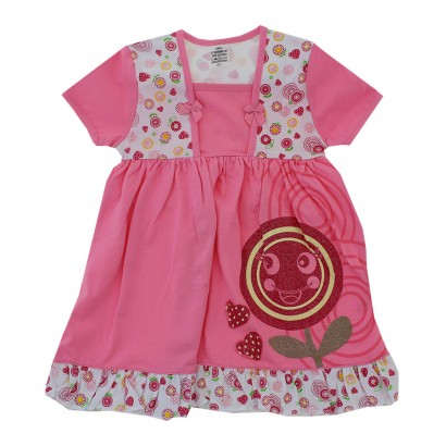 Vestido Infantil Florzinha 4834