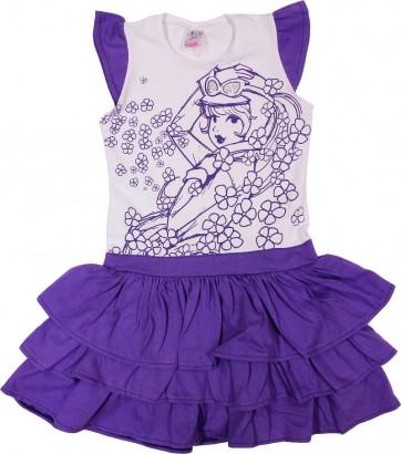 Vestido Infantil Penélope Charmosa 6523