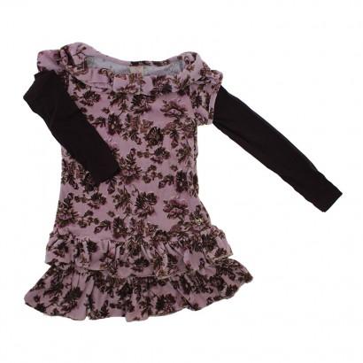 Vestido Infantil - Plush Flower 5774